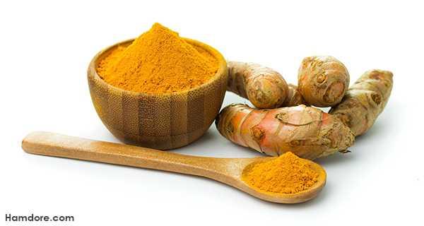 درمان خانگی زانو درد با پودر زردچوبه