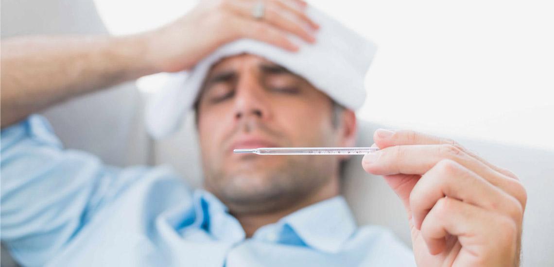 درمان خانگی تب