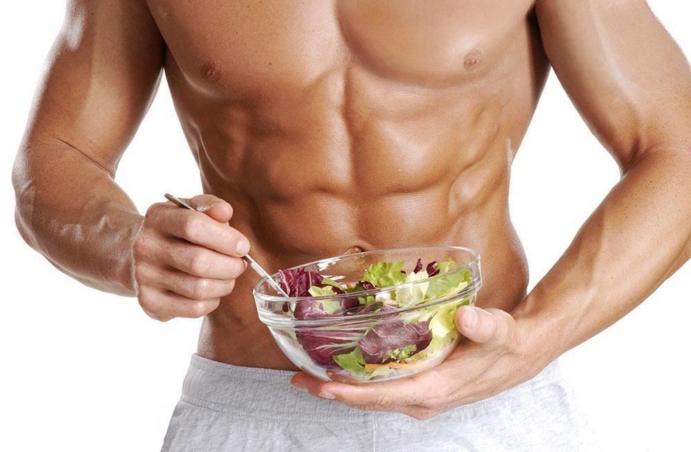 عضله سازی و سفت شدن بدن با رژیم عذایی سالم