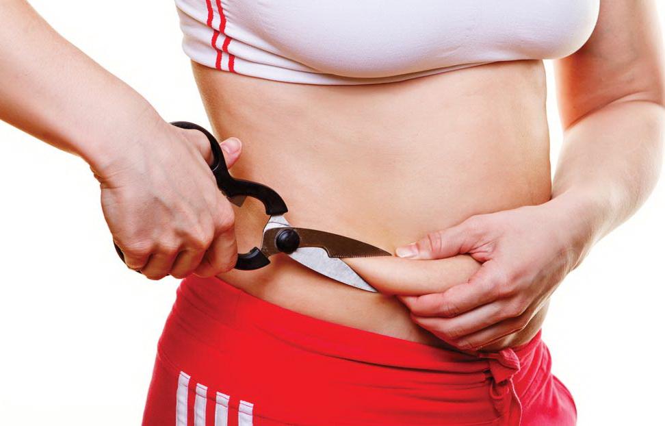 کاهش چربی ناحیه شکم با  موادغذایی فوق العاده